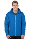 Tri-Mountain J8850 Bellwood Men's Hooded Honeycomb Poly/Fleece Jacket
