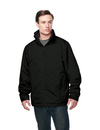 Tri-Mountain J8885 Maine Men's 3 in 1 jacket, inner with zipped out poly fleece jacket