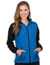 Tri-Mountain JL1480 Alameda Women's Midweight Nylon/Fleece Jacket