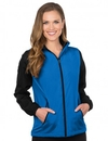 Tri-Mountain JL1480 Alameda Women's Midweight Nylon/Fleece Jacket