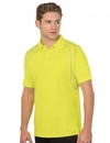 Tri-Mountain K037 Guardian Men's Safety Polo with Reflective Piping