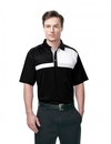 Tri-Mountain K109 Marquis Men's 100% Polyester Knit S/S Golf Shirt, Embroidery