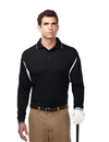 Tri-Mountain K118LS Action Long Sleeve Men's 100% polyester waffle knit