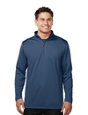 Tri-Mountain K628 Clementon Men's 100% Polyester 1/4 Zip Pullover w/TMP puller