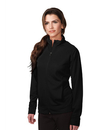 Tri-Mountain KL630 Lady Exocet Women's 100% Polyester Knit Full zip Jacket, Embroidery