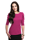 Tri-Mountain LB132 Naomi Women's 3/4 sleeve scoop neck pullover