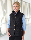 Tri-Mountain LB8221 Bailey Women's 95% Polyester 5% Nylon Woven Poly-filled Quilted W/R Jacket