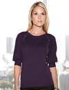 Lilac Bloom LB925 Emma Women's 100% cotton + 70 d/l Nylon Knit Elbow Sleeve Sweater
