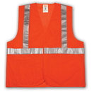 Tingley V70629 Job Sight Class 2 Mesh Vest, Orange