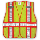 Tingley V70832 Job Sight Class 2 Adjustable Vest, Yellow