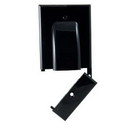 Vanco 120618X Hinged Bundled Cable Plate - Black
