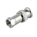 Male F to Male BNC Adapter, 200-120
