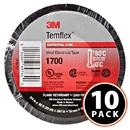3M 1700 Temflex Vinyl Electrical Tape - Black 10-Pack