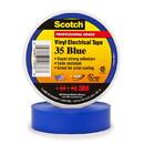 3M Scotch Vinyl Electrical Tape 35 - Blue, 3M-35BL