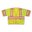 Sleeved Safety Vest, Class 3, Lime-Yellow - 2XL