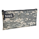 Klein Tools Camouflage Zipper Bag