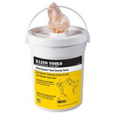 Klein Tools Kleaners Hand Cleaning Towels - 72ct Bucket, 51425