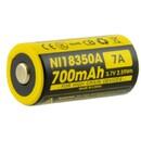 Nitecore NI18350A 700mAh IMR 18350 Li-Mn Battery