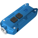 Nitecore TIP 2017 Metallic Keychain Flashlight - Blue