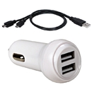 USB Car Charger Kit for Smartphones