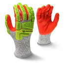 Radians Sandy Foam Cut Level A5 Work Gloves - Large, RAD-603L