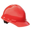 Radians 4-Point Ratcheting Hard Hat - Red