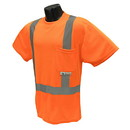 Radians Class 2 Mesh T Shirt, Orange - Large