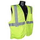 Radians Class 2 Vest with Zipper, Green - Small