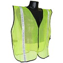 Radians Non-Rated 1in Safety Vest, Green - S-XL