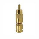 Gold RG6 Compression RCA Connector, SLC6-RCAG
