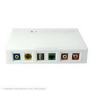 6 Port Surface Mount Box - White, SMBSIX-W