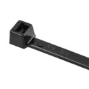 HellermannTyton 18lb 4in Black Cable Tie - 100pk, T18R0C2