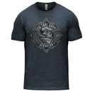 Tech Tool Supply TTS-GH-NAVY-TB Gearhead T-Shirt - Soft Tri-Blend S-3XL Vintage Navy