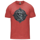 Tech Tool Supply TTS-GH-RED-TB Gearhead T-Shirt - Soft Tri-Blend S-3XL Vintage Red