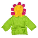 TopTie Cartoon Themed Hooded Bathrobe, Terry Baby Towel, 0-2 years old