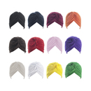 TOPTIE Women Turban Headband Headwrap Beanie India's Hat - 1 Dozen