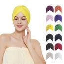 TOPTIE Women Turban Headband Headwrap Beanie India's Hat - 1 Dozen