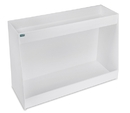 TrippNT 12 and 24 Inch Double Shelf Safety Shelves in 10 Sizes