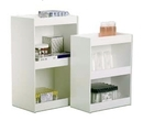 TrippNT White PVC 12 Inch Wide Straight Safety Shelves