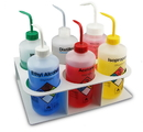 TrippNT 50967 White ABS Six-Pack 500 mL Bottle Holder: 11 x 3 x 7 inches WHD