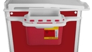 Element Healthcare Cart Sharps Container with Mount