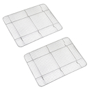 Aspire Stainless Steel Cooling and Roasting Wire Rack Set of 2, 11.5 Inch x 16.5 Inch