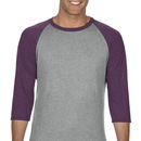 Anvil 6755 Tri-Blend 3/4 Raglan Sleeve Tee