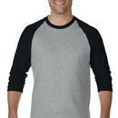 Gildan 5700 Dryblend Adult 3/4 Sleeve Raglan T-Shirt