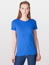 American Apparel 2102 Ladies' Fine Jersey Tee