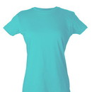 Tultex 213 Ladies' Slim Fit Fine Jersey Tee