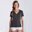US Blanks US228 Women's Tri-blend V-Neck