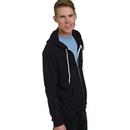 Bayside 875 Unisex Full Zip Fleece Jacket