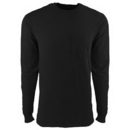 Next Level Apparel 7451 - Garment Dyed Long Sleeve Pocket Crew