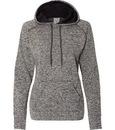 J. America 8616 Ladies COSMIC Contrast Pullover Hood